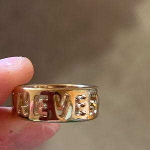 """""""Never growing up"""" ring"""